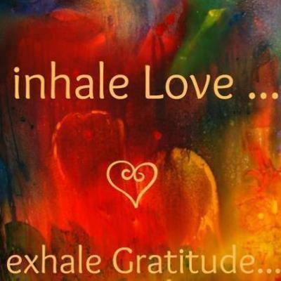 dankbaarheid en liefde als één grote waarneming