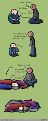 helpen compassievol