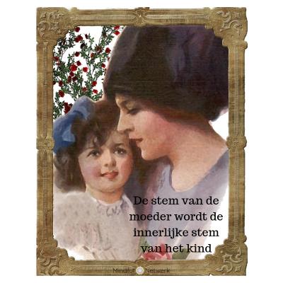 De stem van de moeder en de innerlijke stem