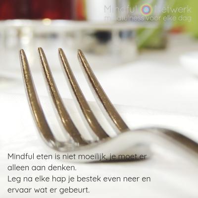 bestek mindful eten