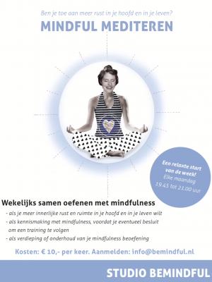 Wekelijks mindful uurtje in Amsterdam