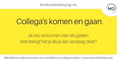 Werkverlichting tip #2