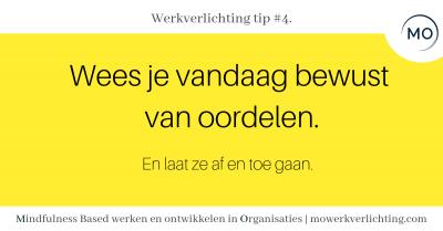 Werkverlichting tip #4