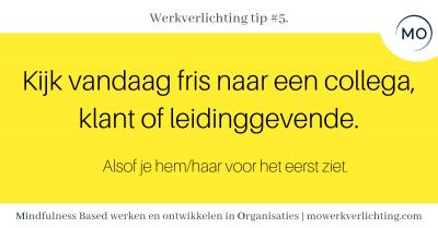 Werkverlichting tip #5