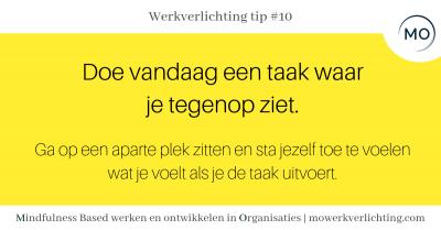 Werkverlichtingtip  #10