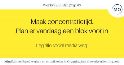 Werkverlichting tip #7