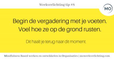 Werkverlichting tip #8