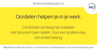 Werkverlichting tip #11