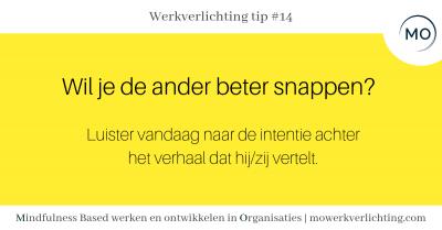 Werkverlichting tip #14