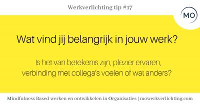 Werkverlichting tip #17