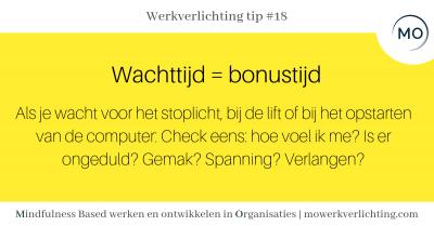 Werkverlichting tip #18