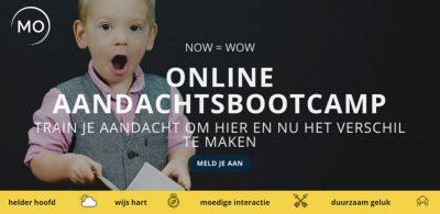 Online Aandachtsbootcamp