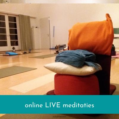 Online Live meditatie