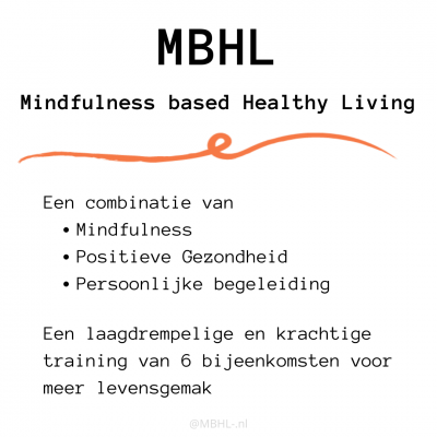 Nieuw – Mindfulness based Healthy Living