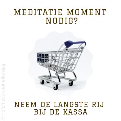 Meditatiemoment #3