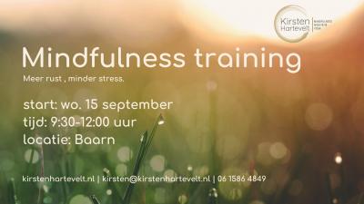 Lees meer over het artikel MBSR mindfulness training in Baarn