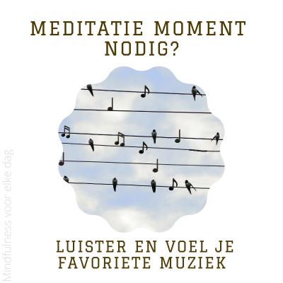 Lees meer over het artikel Meditatiemoment nodig? #25