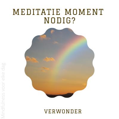 Lees meer over het artikel Meditatiemoment nodig? #29